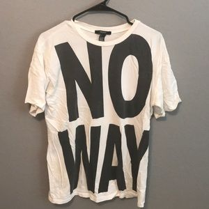 No Way Forever 21 Graphic Tee